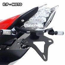 Motorcycle Fender Eliminator Registration License Plate Holder License Bracket LED Light For S1000RR  цена 2017
