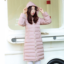 Free shipping 2016 Female models add fertilizer XL in elderly cotton padded winter long thick warm winter clothes mother coats