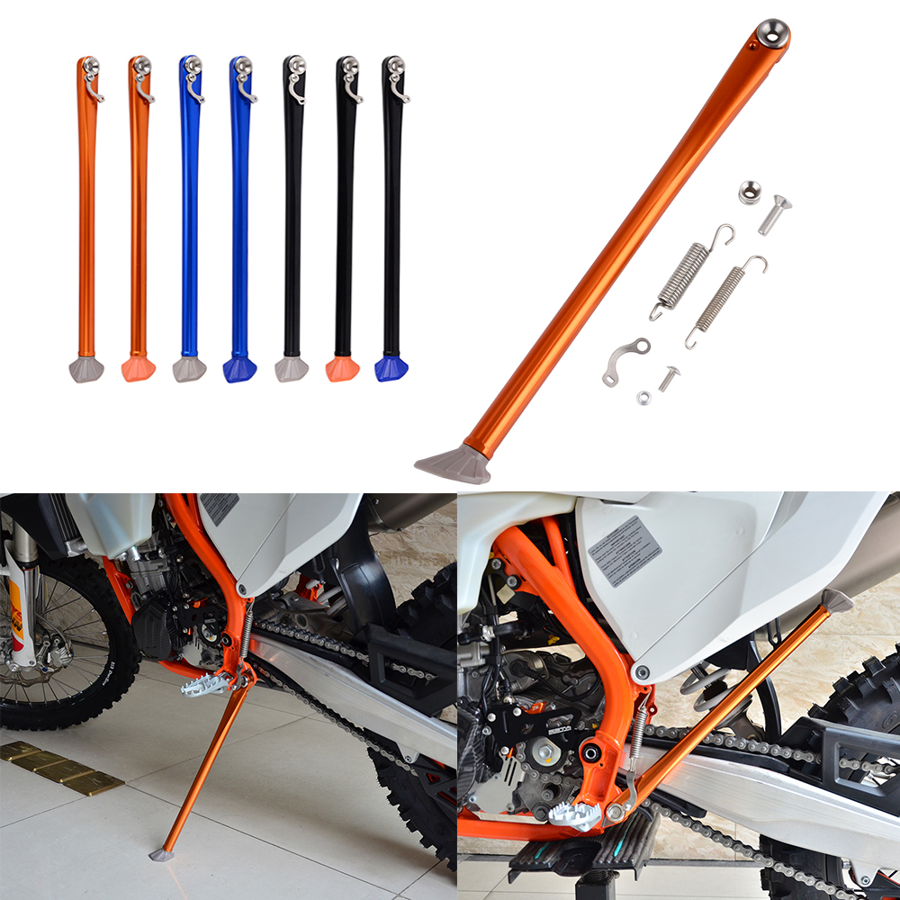 Motorcycle Side Stand Kickstand For KTM 125 150 200 250 300 350 400 450 500 530