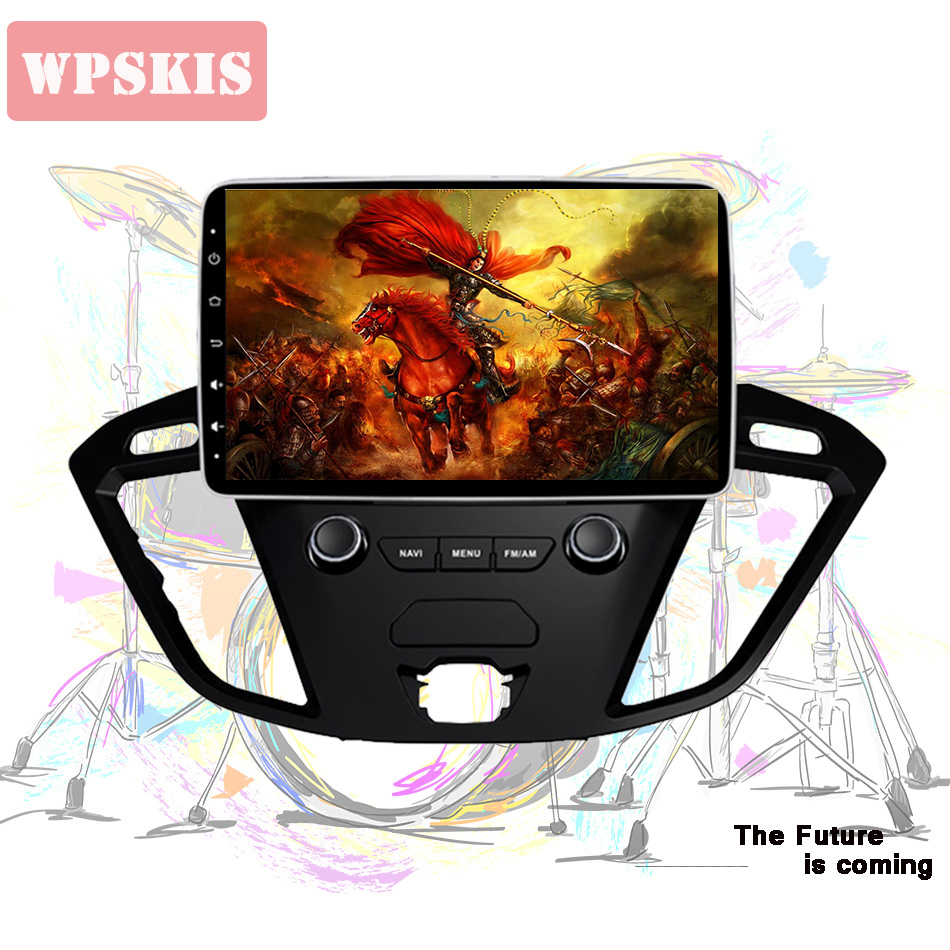 """8 Core Android 10.0 Car DVD For Ford Custom/Tourneo/Transit 150/250/350/350HD 2013-2018 Auto Radio Stereo GPS Navi 9"""" IPS System"""