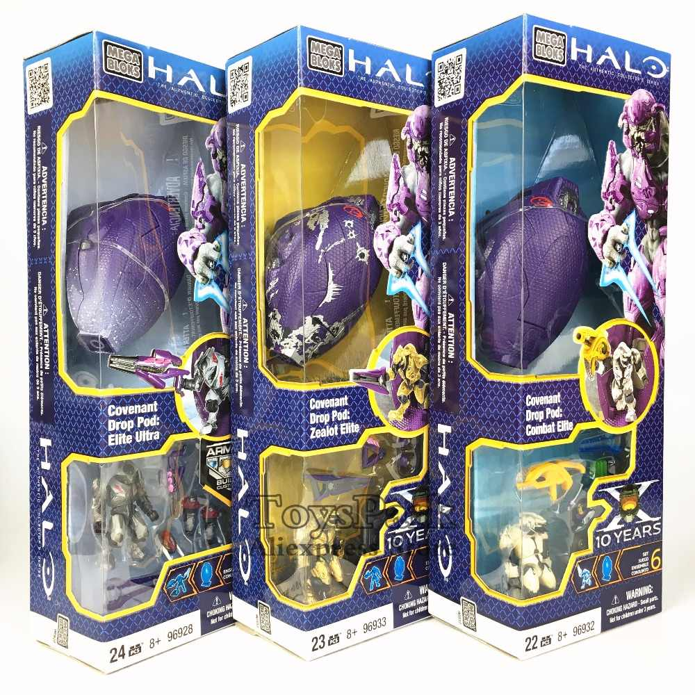 HALO Covenant Drop Pod Combat Zealot Elite Ultra Building