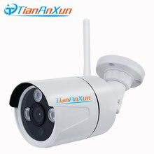 TIANANXUN IP Камера Wi-Fi аудио записи Беспроводной P2P HD наблюдения Открытый безопасности Камера Ночное видение CCTV Yoosee слот для карты SD