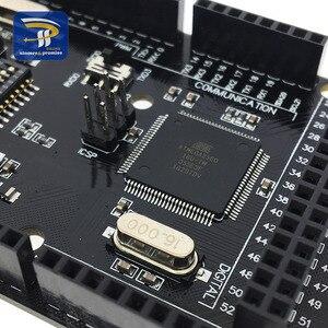 Image 3 - Mega2560 + Wifi R3 ATmega2560 + ESP8266 32Mb Geheugen USB TTL CH340G. Compatibel Voor Arduino Mega Nodemcu Voor Wemos ESP8266