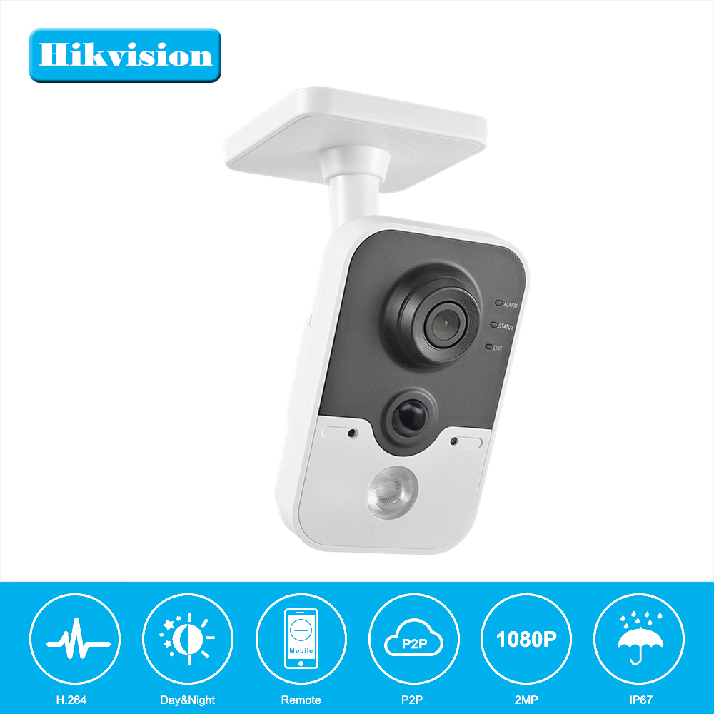 Wi-Fi IP camera IPC3412-W 2MP CMOS Wireless Home Security Camera 720P Baby Monitor Night Vision DS-2CD2420F-IW OEM hikvision ds 2cd2442fwd iw wifi camera 4mp ir cube wireless ip camera poe ip camera baby monitor wireless security cam