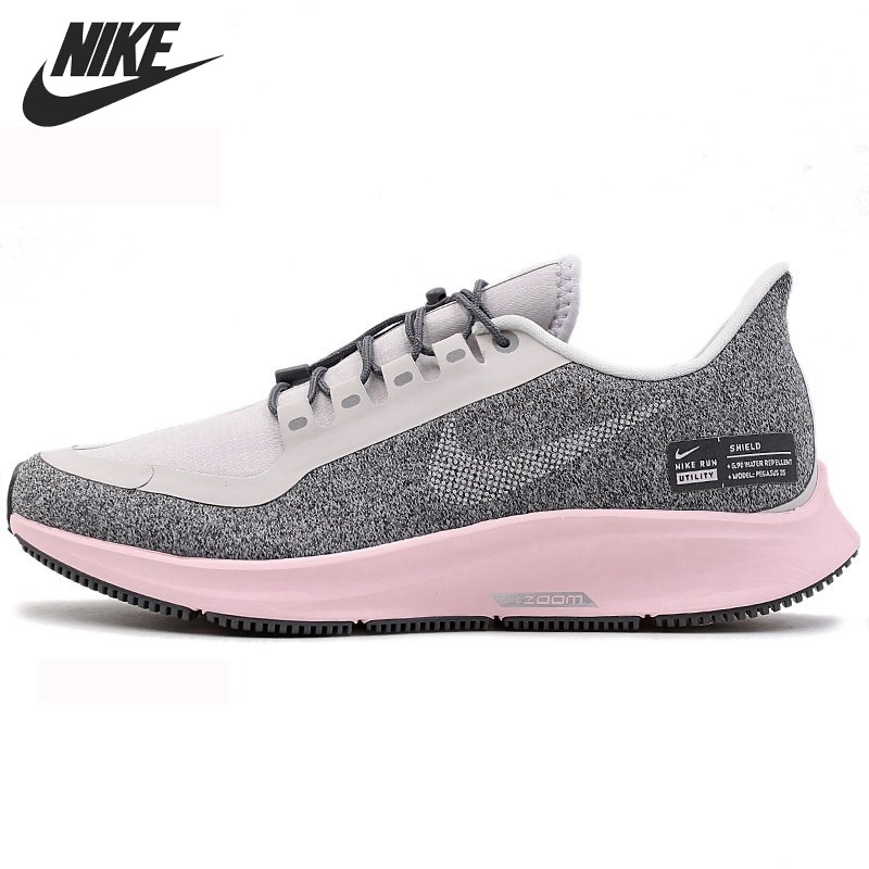 low priced 140d6 1cd6f US $147.0 30% OFF|Original New Arrival 2019 NIKE AIR ZOOM PEGASUS 35 RN  SHLD Women's Running Shoes Sneakers-in Running Shoes from Sports & ...