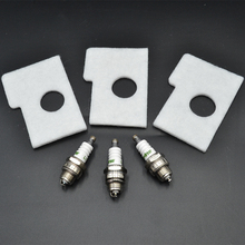 3X Air Filter 2X L7T Spark Plug For Stihl Chainsaw 017 018 MS180 MS170 MS 170