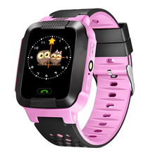 Children Kid's Smartwatch Wristwatch GPS Tracker Remote Security SOS GSM Locator Tracker Anti-Lost Safe Watches for iOS Android все цены