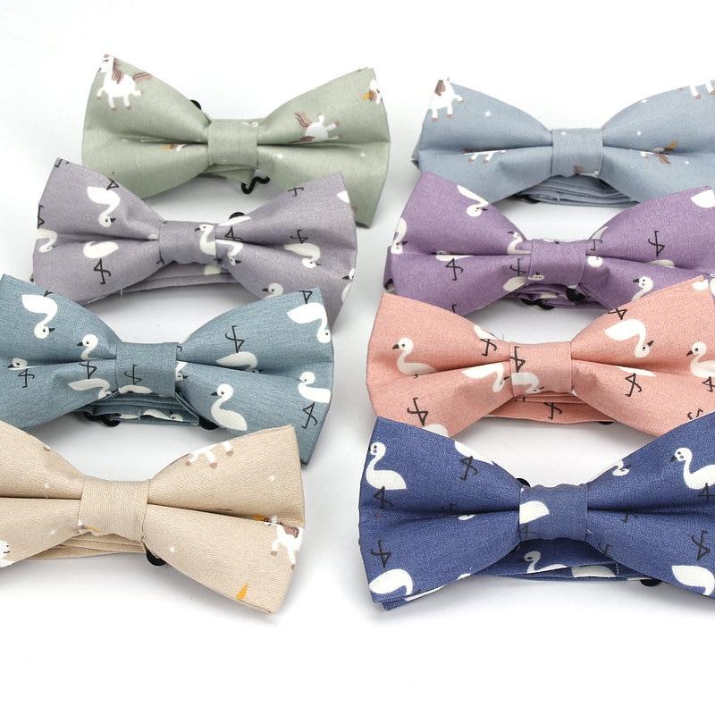 Kreativ Männer Cartoon Bowtie Mode Shirts Fliege Für Männer Business Hochzeit Bowknot Erwachsene Drucken Bogen Krawatten Vestidos Gravata Borboleta Waren Jeder Beschreibung Sind VerfüGbar Bekleidung Zubehör