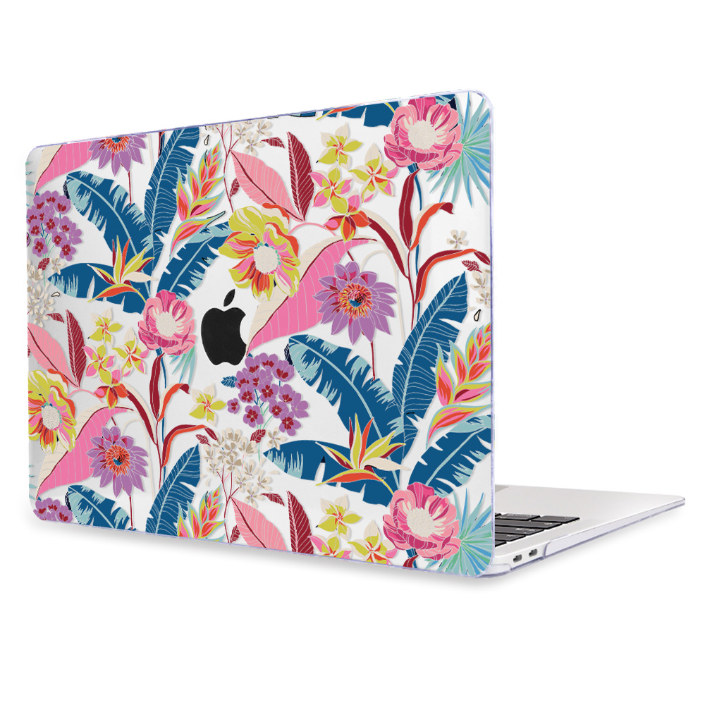 Redlai Colorful Flowers Case for MacBook 40