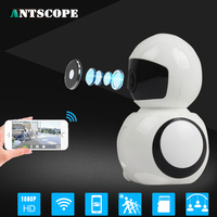 Antscope 1080P 2MP Home Security IP Camera Wireless Smart WiFi Camera Audio Record Surveillance Baby Monitor