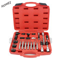24pcs Alternator Freewheel Pulley Puller Removal Engine Auto Tool Set NEW