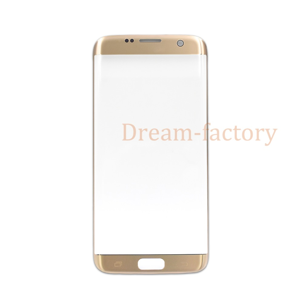 50PCS DHL Front Outer Touch Screen Glass Lens Repair Replacement for Samsung Galaxy S7 Edge G935