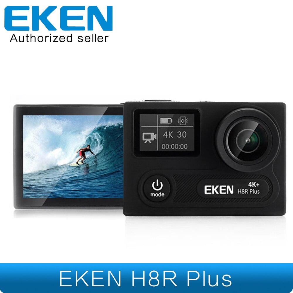 EKEN H8R Plus Ambarella 4 K 30fps Ultra HD Caméra Réel 4 K Action Caméra 30 étanche LCD Écran Wi-Fi à distance Caméra De Sport