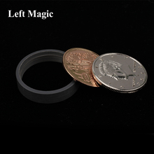 1 Set Scotch And Soda Coins Magic Tricks Tango & (US Dollar Version) - Coin Money Props Mentalism toy
