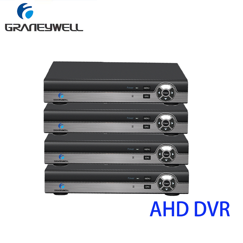 4 PCS Security AHD DVR 4CH 4 in 1 H.264 1080P CCTV DVR Digital Video Recorder HDMI Video Output Support for iPhone Android цены онлайн