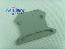 1 pcs/lot D-UK2.5 END PLAT Uneiversal sekrup jenis Din Rail Terminal Blok End Cap(China)