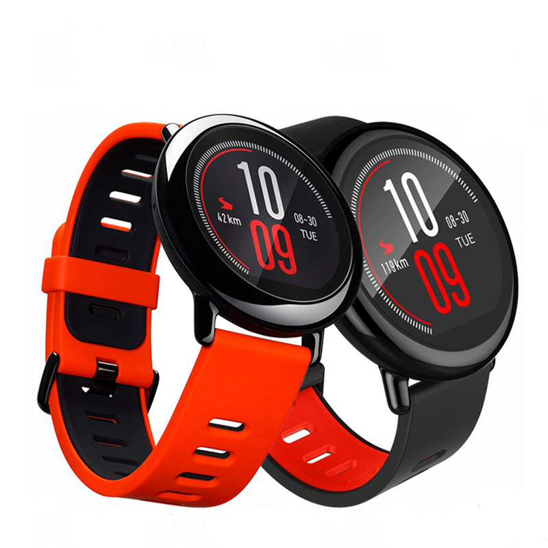 Original Xiaomi Huami Amazfit Smart Wristband,Huami Amazfit Sport Watch,Color Screen,Dual-core CPU,GPS,WiFi,Heart Rate Monitor huami amazfit heart rate smartband