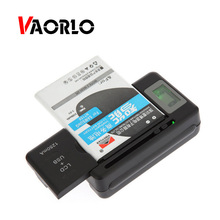 VAORLO Mobile Battery Charger Universal LCD Indicator Screen