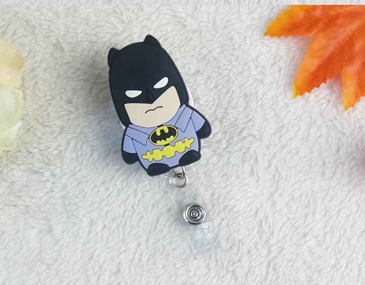 Perfect New Arrival Cartoon Heroes Character Retractable Pull Badge Reel For ID  Card Badge Holder Office Supplies 3pcs/lot In Badge Holder U0026 Accessories  From Office ...