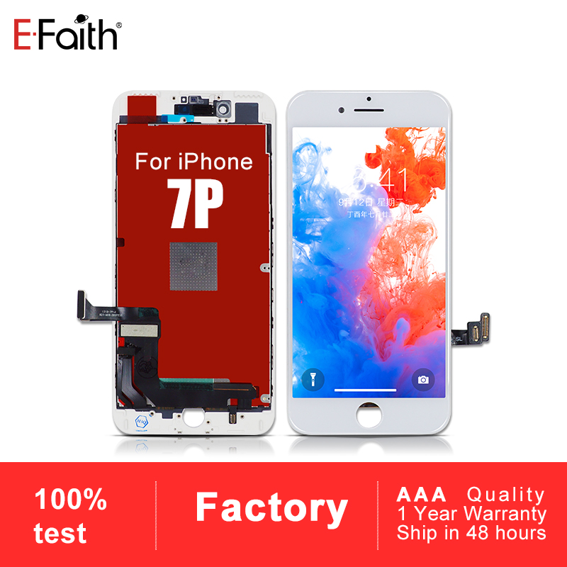 10 PCS AAA For iPhone 7P or 7 Plus Replacement with Touch Screen Digitizer Assembly Display