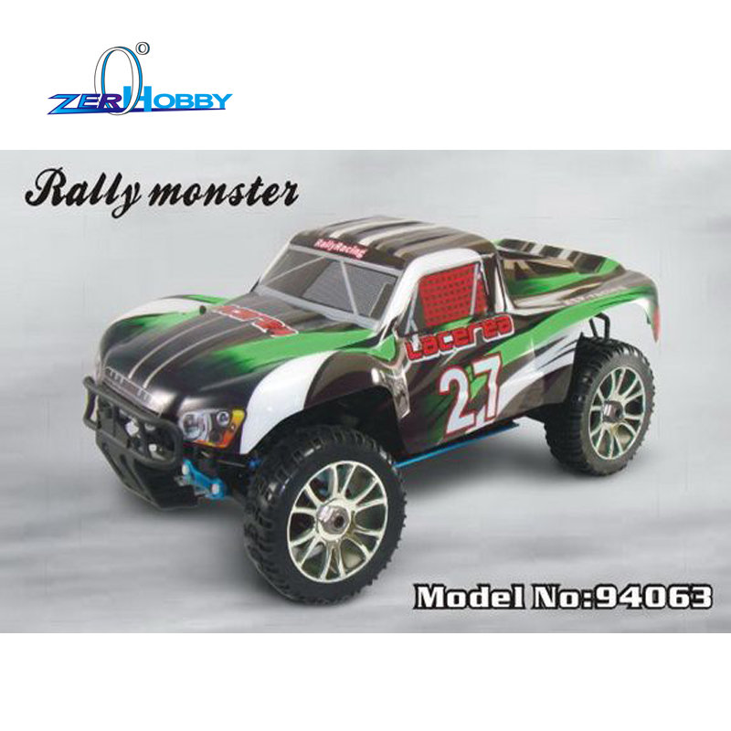 HSP RALLY RACING MONSTER TRUCK 94063 1/8 ELECTRIC POWERED BRUSHLESS 4X4 OFF ROAD RTR RC CAR 3300KV MOTOR hsp rc car 1 8 electric power remote control car 94863 4wd off road rally short course truck rtr similar redcat himoto racing