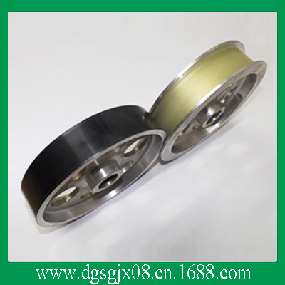 The Coated Ceramic  idler Pulley  and plastic pulley coated ceramic pulley and pu plastic pulley for extruding machine and stranding wire machine