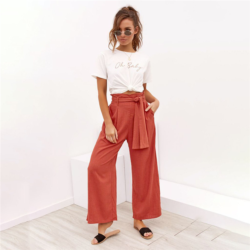 Wide leg pant female10