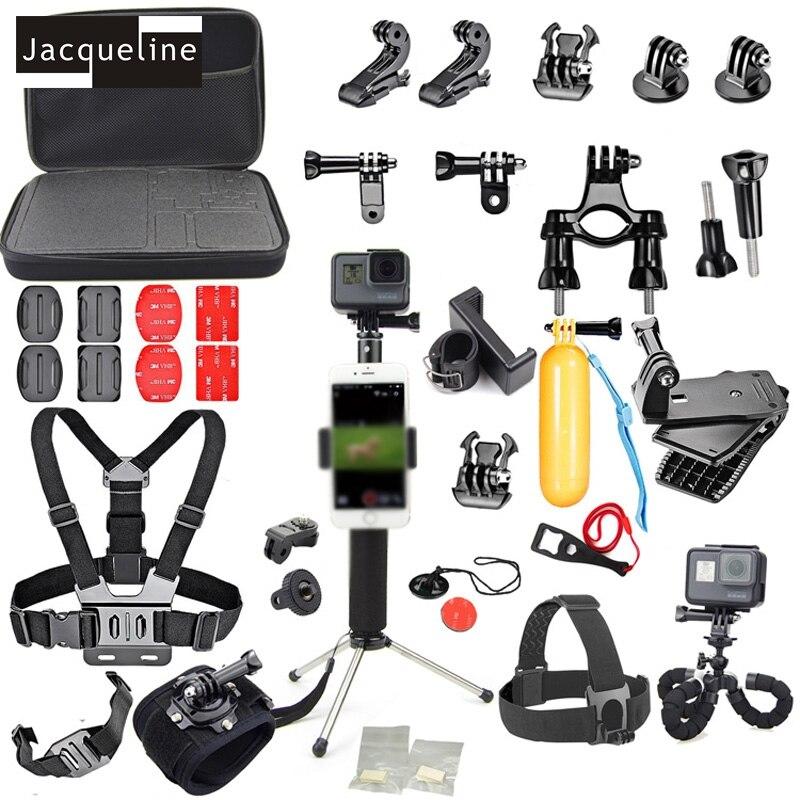 Jacqueline til tilbehørssæt Selfie m / telefonlåsbeslag til Gopro - Kamera og foto - Foto 1
