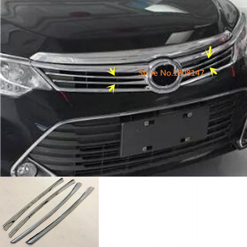 Aliexpress Com Buy Chrome Front Upper Grill Grille For: Car ABS Chrome Front Engine Racing Grill Machine Grille
