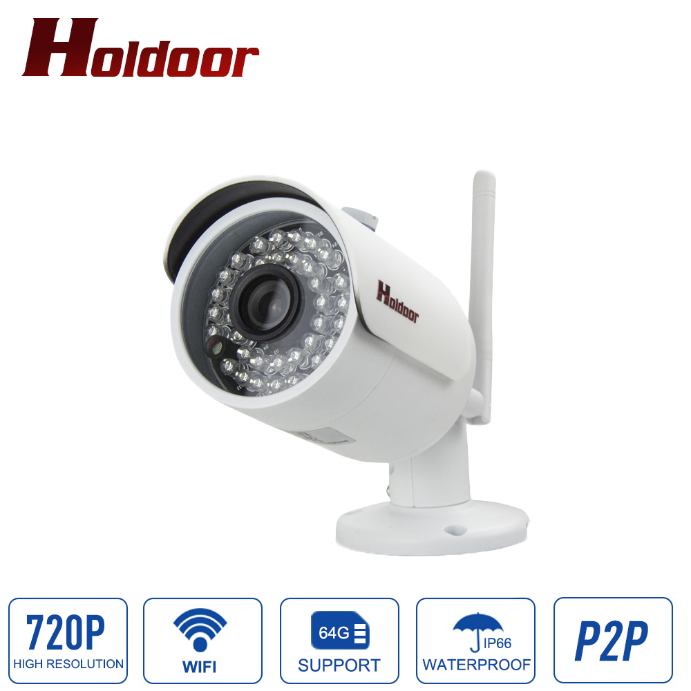720P IP Camera WiFi Wireless Security Camara Onvif Video HD IR Night Vision Outdoor Waterproof IP66 Surveillance CCTV System hd bullet outdoor mini waterproof cctv camera 1200tvl ir cut night vision camara video surveillance security camera