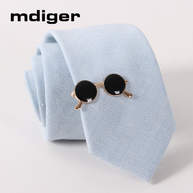 e7c91f3a35af Mdiger Brand Fashion Mens Clips Tie Glasses for Men's Suits Necktie Clips  Tie Bar Clasp Pin Wedding Suit Jewelry For Gentleman