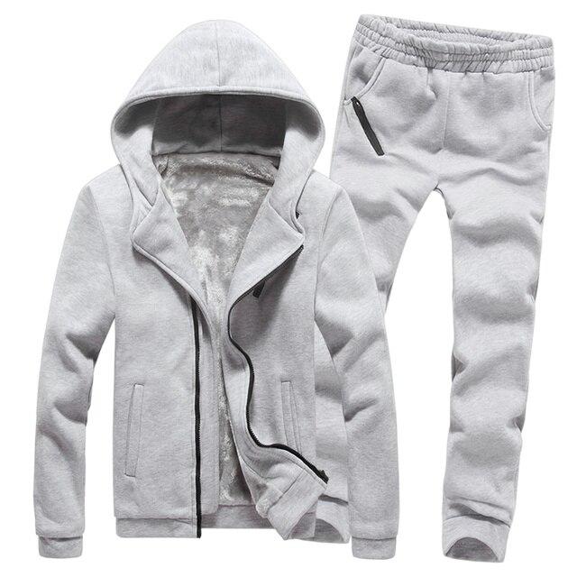 Hoodie+Pant for men Casual Suit Sweatshirt winter/autumn fashion Men's Sportswear casual hoodie sweatshirt Comfortable Gent Life