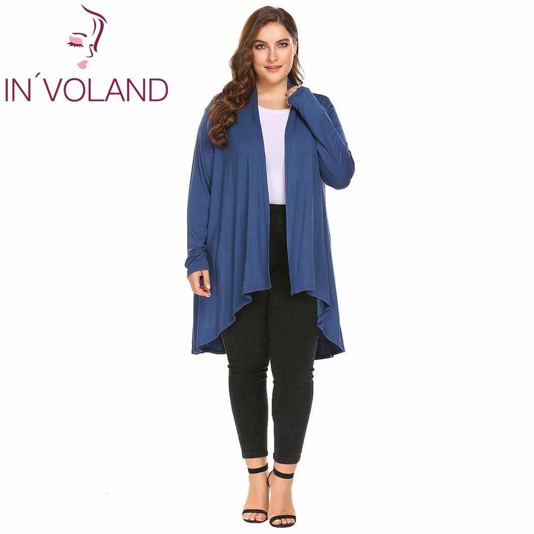 8584deecef Detail Feedback Questions about IN'VOLAND Plus Size Women Solid ...