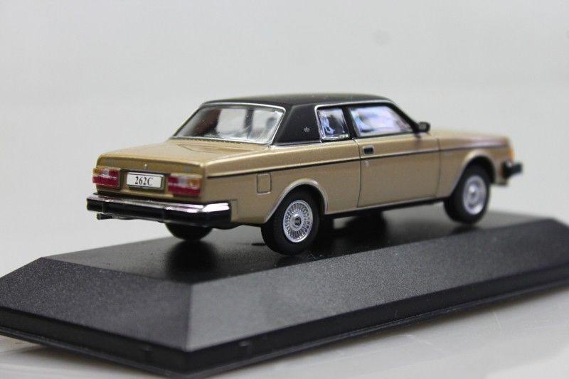 IXO Volvo 262C Bertone   1976-1982   gold metallic ATLAS   1:43