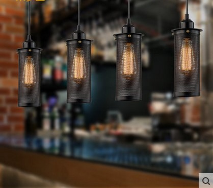 Edison Vintage Lamp Pendant Lights Fixtures For Dinning Room Bar In Style Loft Industrial Light Lamparas Hanglamp 2pcs american loft style retro lampe vintage lamp industrial pendant lighting fixtures dinning room bombilla edison lamparas