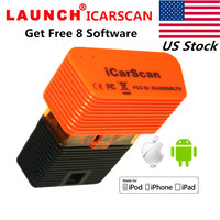 LAUNCH X431 ICARSCAN Bluetooth OBD2 Reader Scanner For Android IOS With 8 Free Software For GM