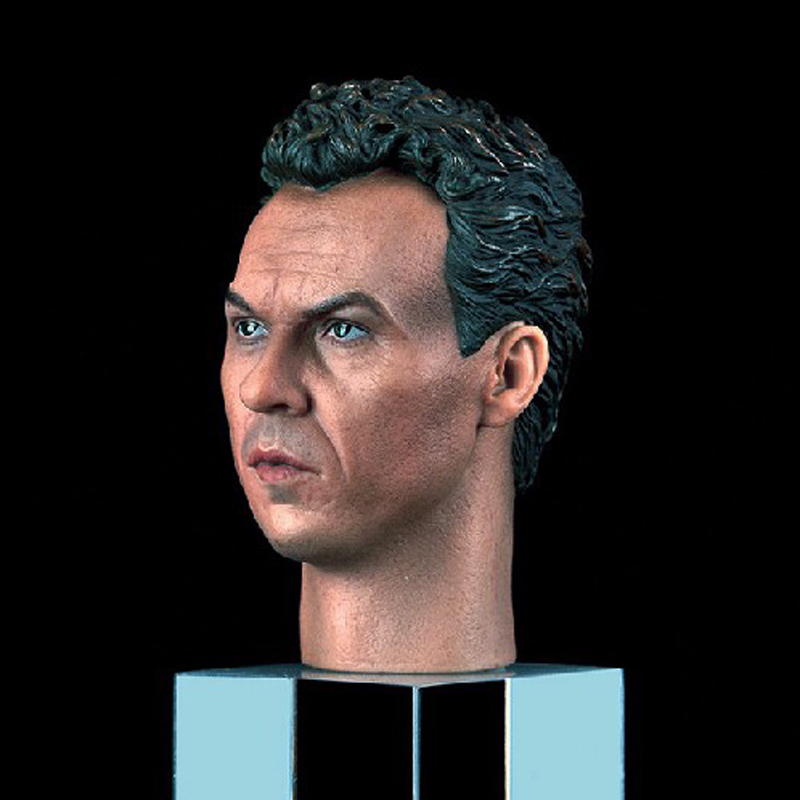 ФОТО Michael Keaton Male Head Sculpts Model Toys 1989 Batman Headplay Model For 12