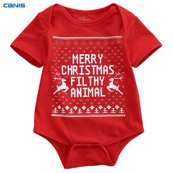 My First Christmas Baby Boy And Baby Girl Dress 1