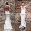 Vestido Де Noiva Sereia Vintage Кружева Свадебное Платье Sexy Backless Свадебные Платья 2016 Casamento Свадебное Платье Robe De Mariage 2016