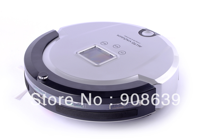 Intelligent Robot Vacuum Cleaner With Time Setting/Lowest Noise/ Long Working Time/Auto Recharged /UV/ Remote Controller