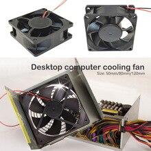 Работающего на постоянном токе 12 В в вентилятор 50 80 120 мм 2 контактный разъем вентилятор охлаждения для компьютера чехол Процессор радиатор Компьютерные аксессуары Процессор охлаждающими вентиляторами