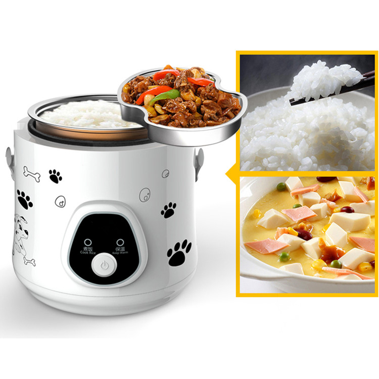 1.6L Mini Electric Rice Cooker portable Small Rice Cooker for1-3 people 280W Student smart rice cooker Free Shipping цена и фото