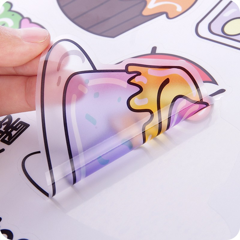 HTB18 hXRXXXXXcBaXXXq6xXFXXXF - Cartoon Kitchen Refrigerator Door Sticker-Free Shipping