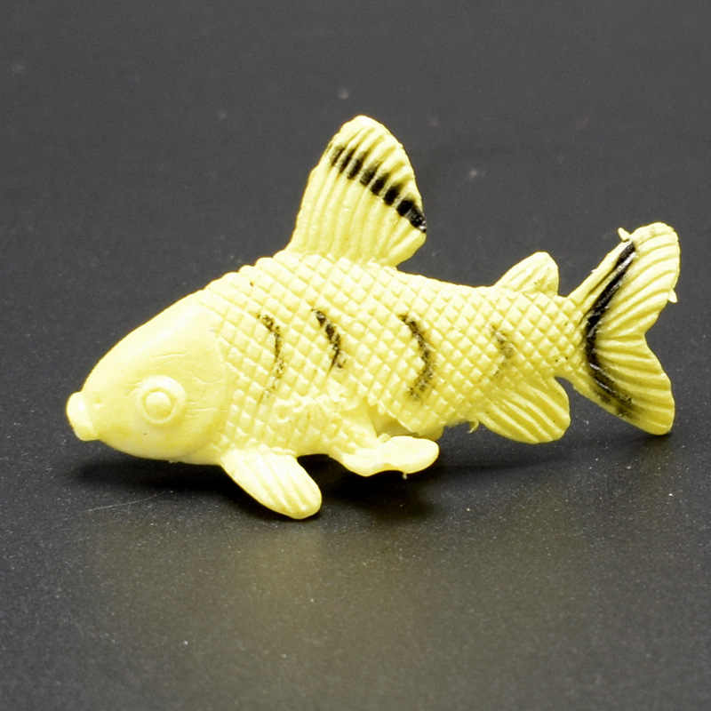 12 pcs Oceano Tropical Peixe Pet Toy Figuras Presente Da Vida Do Mar Brinquedos Modelo PVC Piscina Peixe Brinquedo Educação Mini animais marinhos GYH