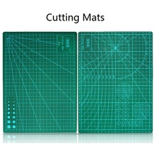A4 High Quality PVC Cutting Mats DIY Self Healing Fabric Leather Paper Craft Cutting Tool Rectangle Grid Lines Double-Side 00901