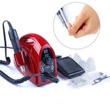 Электрический аппарат для маникюра и педикюра, 35000 об/мин, 65 Вт, для удаления кутикулы, маникюра, педикюра, фрезы