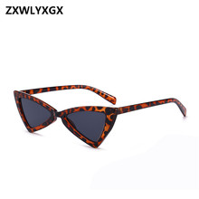 ZXWLYXGX Retro Sunglasses Ladies Fashion Cat Eye Luxury Brand Designer Black Glasses oculos UV400