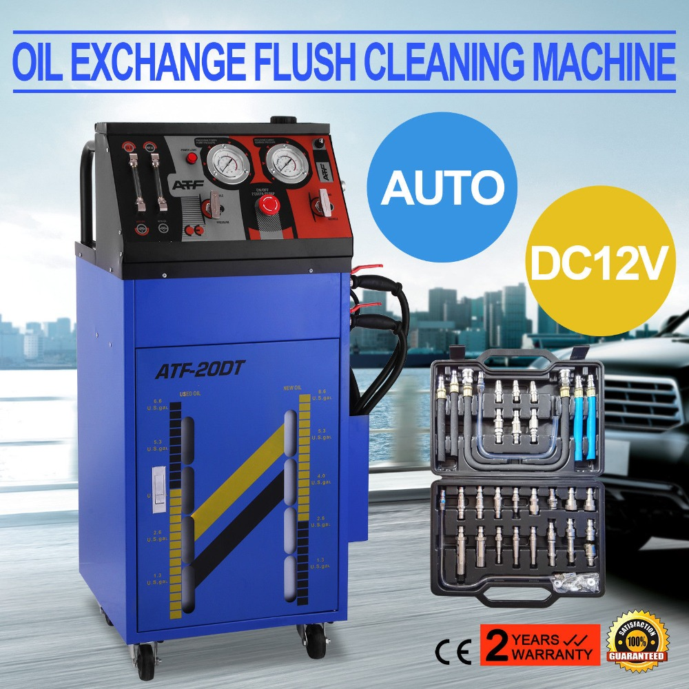 ATF-6000 Auto Transmission Fluid Exchanger Gearbox Oil Exchange Cleaning MachineATF-6000 Auto Transmission Fluid Exchanger Gearbox Oil Exchange Cleaning Machine