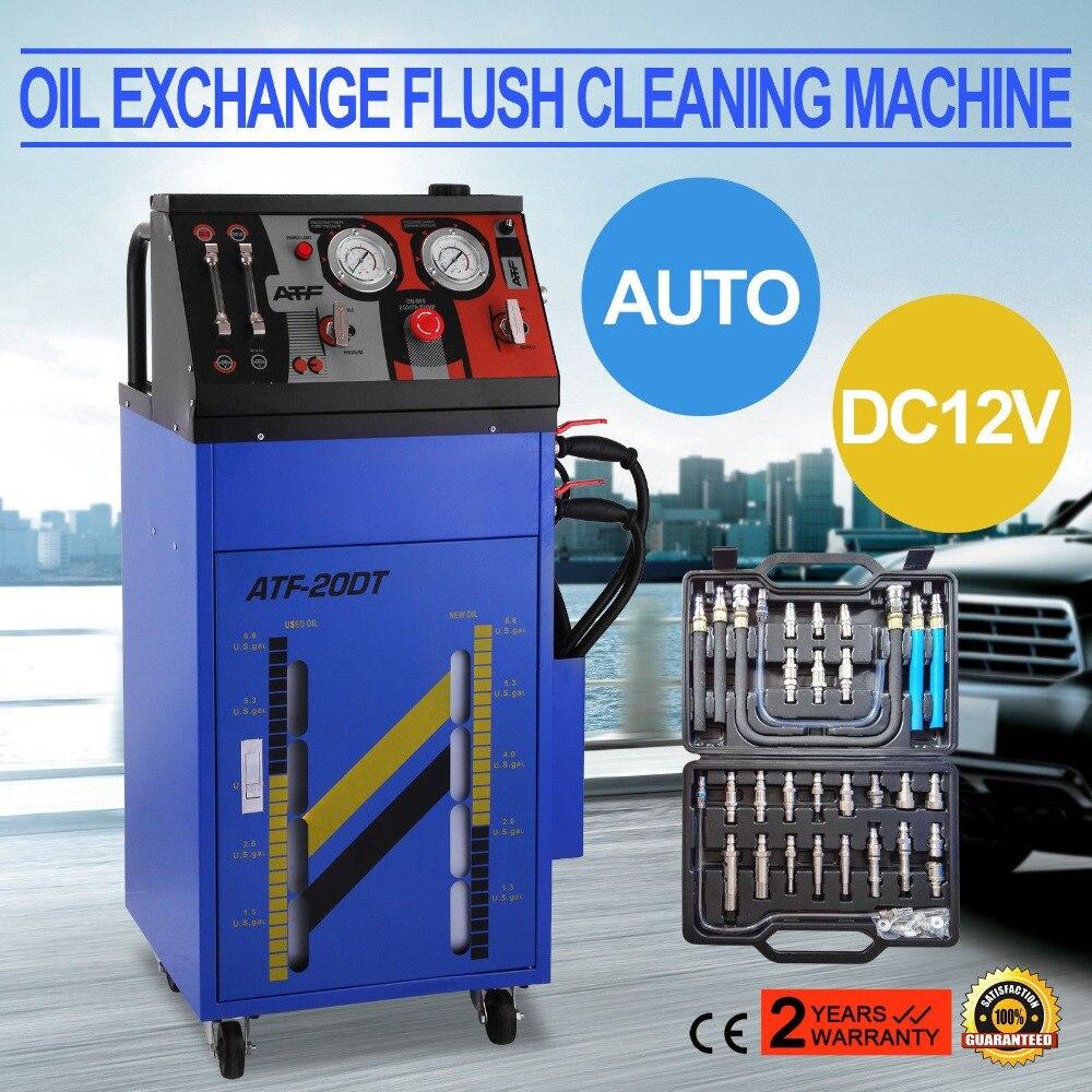 Machine de nettoyage d'échange d'huile de boîte de vitesse d'échangeur de fluide de Transmission automatique de ATF-6000