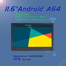 11,6 дюймов ips wifi Android 6,0 Поддержка мыши загрузка установки приложения 1920x1080 цифровая фоторамка рекламная машина 1+ 8G памяти